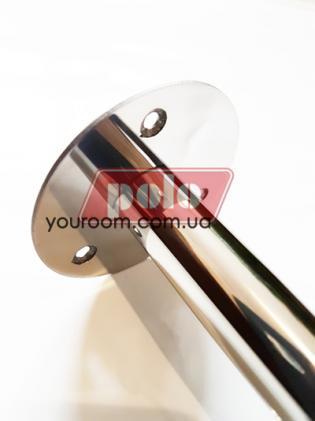 Г-образная штанга для шторки прямоугольной угловой ванны