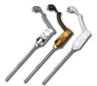 Нагреватель HeatPol GTN для полотенцесушителей (900Вт) в цветовой гамме: белый, хром, золотой.