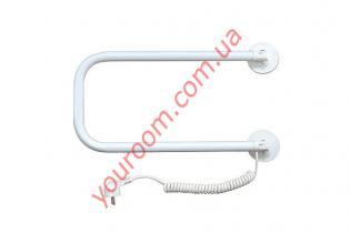 Поворотный полотенцесушитель белый (500х300)