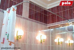 Г-образная штанга для угловых ванн