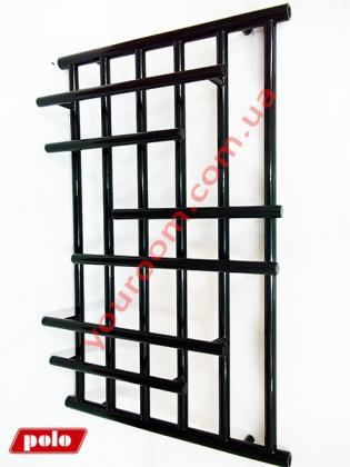 Черный Полотенцесушитель Вертикаль 90х60