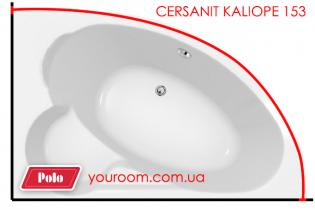 Карниз для ванны Cersanit Kaliope 153