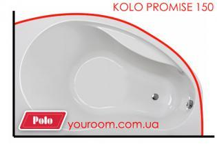 Карниз для ванны KOLO Promise 150x100