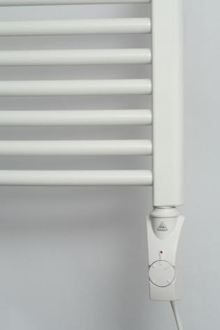 Нагреватель HeatPol GTN для полотенцесушителей (600Вт) белый.