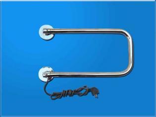 Поворотный полотенцесушитель (500х300) нержавеющая сталь